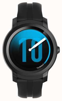TicWatch E2 | schaduw smartwatch | zwarte siliconen band 131586-WG12026-BLK