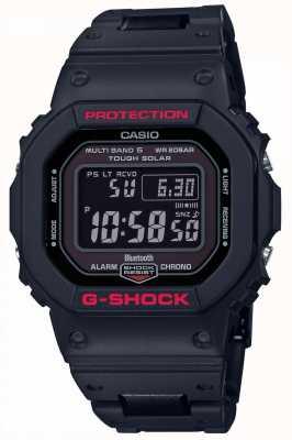 Casio Digitale g-shock herenarmband met zwarte kunststof GW-B5600HR-1ER