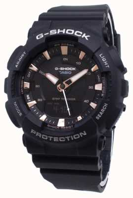 Casio G-shock step tracker zwarte kunststof band GMA-S130PA-1AER