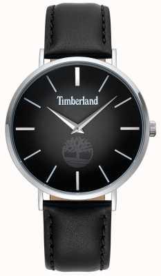 Timberland | mens rangeley | zwarte leren riem | zwarte wijzerplaat | 15514JS/02