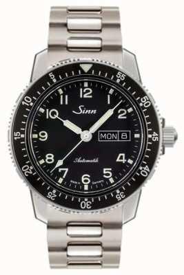 Sinn 104 st sa een klassieke pilotenhorloge twee link stalen armband 104.011 TWO LINK BRACELET