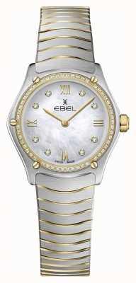 EBEL Dames sport klassiek 53 diamanten 18k geel goud 1216412A