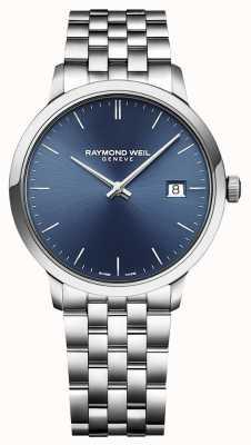 Raymond Weil | mens toccata | klassiek roestvrij staal | blauwe wijzerplaat | 5485-ST-50001