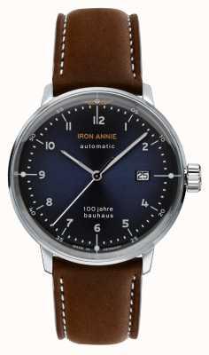 Iron Annie Bauhaus | automatisch | bruine lederen band | 5056-3