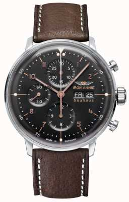 Iron Annie Bauhaus | automatisch | chronograaf | zwarte wijzerplaat 5018-2