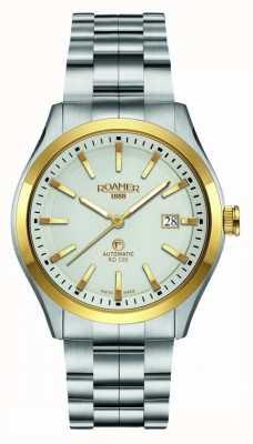 Roamer | automatisch rd100 | roestvrij stalen armband | witte wijzerplaat | 951660-47-15-90