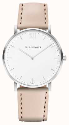 Paul Hewitt | heren matrozenlijn | beige lederen band | PH-SA-R-5M-W-22S
