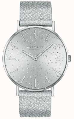 Coach | dames | perenwijn | metalen band | zilveren glitter wijzerplaat | 14503323