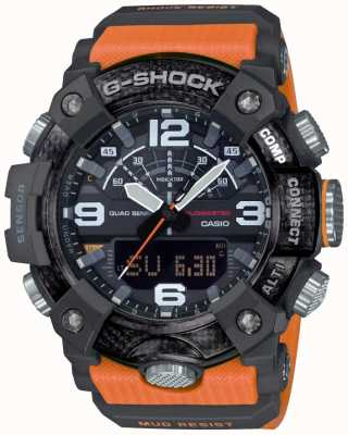 Casio Modder met koolstofkern | stopwatch | Bluetooth GG-B100-1A9ER