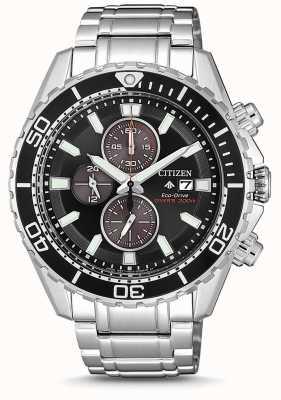 Citizen | mens eco-drive promaster duiker | roestvrij stalen armband CA0711-80H