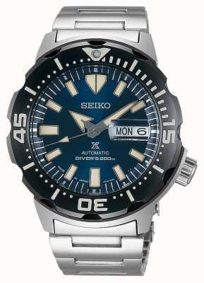 Seiko Prospex monster automatische duikers roestvrijstalen armband SRPD25K1