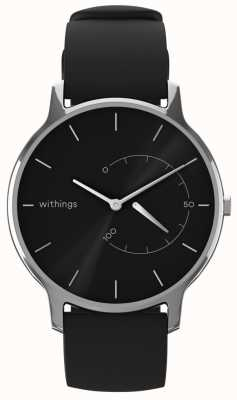 Withings Move tijdloos chic - zwart, zwart siliconen HWA06M-TIMELESS CHIC-MODEL 1-RET-INT
