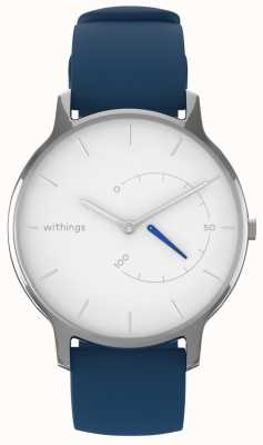 Withings Verplaats tijdloos chic - wit, blauw siliconen HWA06M-TIMELESS CHIC-MODEL 2-RET-INT