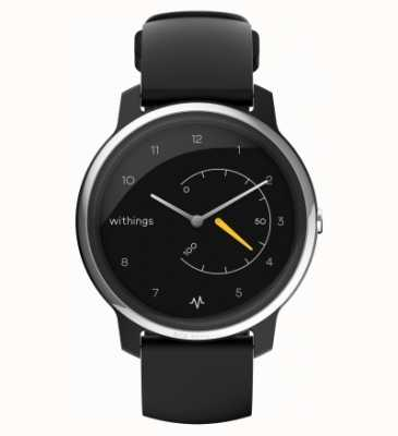 Withings Verplaats ecg | zwart & geel | activiteitstracker HWA08-MODEL 1-ALL-INT