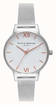 Olivia Burton | dames | midi | roestvrij stalen gaasband | OB16MDW22