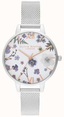 Olivia Burton | vrouwen | ambachtsman | roestvrijstalen mesh armband | OB16AR09