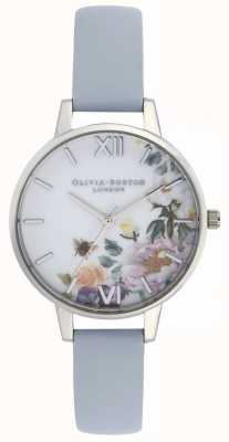 Olivia Burton | vrouwen | betoverde tuin | krijt blauwe riem | OB16EG114