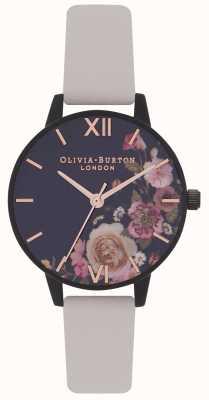 Olivia Burton | dames | na donkere bloemen | vegan naakt riem | OB16AD30