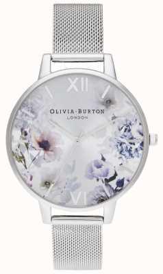 Olivia Burton | vrouwen | zonlicht florals | stalen mesh armband | OB16EG117