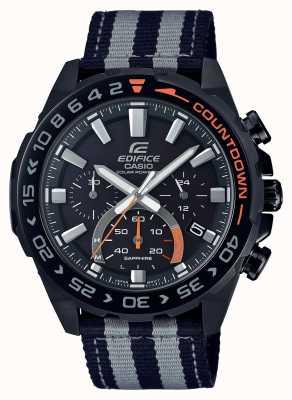 Casio | heren | bouwwerk | premium | zwart grijze riem | kijken | EFS-S550BL-1AVUEF