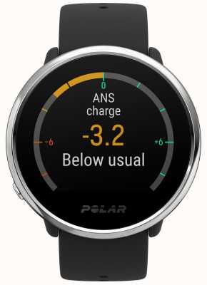 Polar | ontbranden | activiteit en hr tracker | zwart rubber | s | 90071065