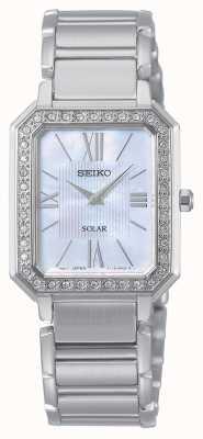 Seiko conceptuele serie | klassiek | zonne | tweekleurige armband | SUP427P1