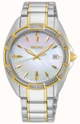 Seiko conceptuele serie | dames | tweekleurige gouden armband | SKK880P1