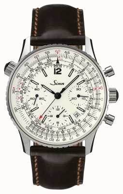 Sinn 903 st zilver de navigatie-chronograaf 903.042