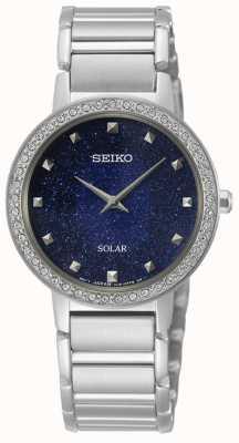 Seiko conceptuele serie | dames zonne-energie | kristallen set SUP433P1