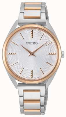 Seiko | conceptuele serie | dames | rose goud two tone SWR034P1