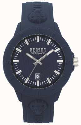 Versus Versace | dames | tokyo r | blauwe siliconen | VSPOY2118