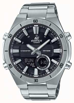 Casio | bouwwerk | mens | standaard chronograaf zwarte wijzerplaat | ERA-110D-1AVEF