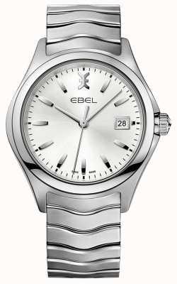 EBEL | heren wave | roestvrij stalen armband | zilveren wijzerplaat | 1216200