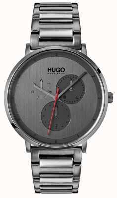 HUGO #guide | grijze ip armband | grijze wijzerplaat 1530012