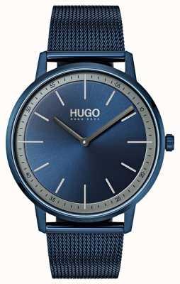 HUGO #exist | blauwe ip mesh | blauwe wijzerplaat 1520011