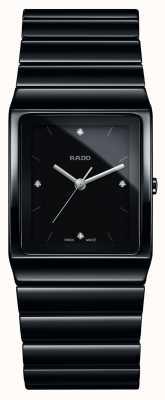 Rado | diamanten van ceramica | vierkante wijzerplaat | keramische armband | R21700702
