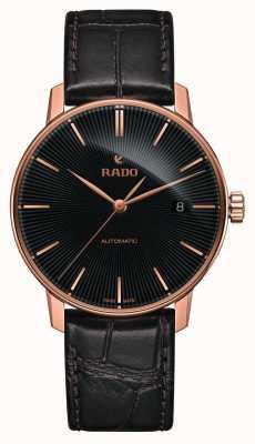 Rado Klassiek automatisch bruin lederen armbandhorloge van Coupole R22861165