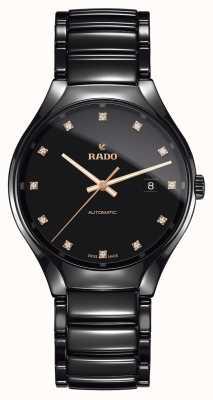 Rado | echte automatische diamanten | plasma hightech keramiek R27056732