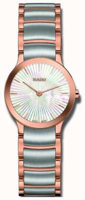 Rado Centrix tweekleurig roestvrijstalen parel horloge R30186923