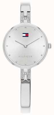 Tommy Hilfiger Kit | roestvrijstalen armband | zilveren wijzerplaat | 1782137
