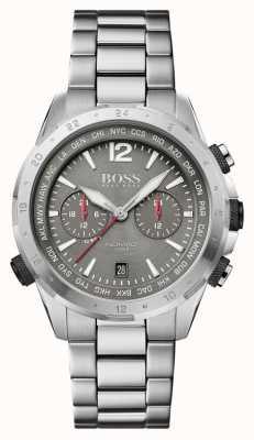 BOSS   nomade   chronograaf   stalen armband   grijze wijzerplaat   1513774
