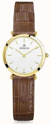 Michel Herbelin | dames | epsilon | bruine lederen band 17106/P11GO