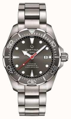 Certina | ds actie | duiker powermatic 80 | titanium | C0324074408100