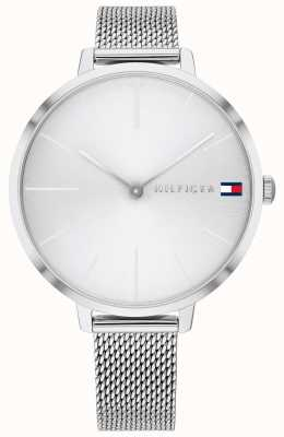 Tommy Hilfiger | damesproject z | stalen gaas armband | zilveren wijzerplaat | 1782163