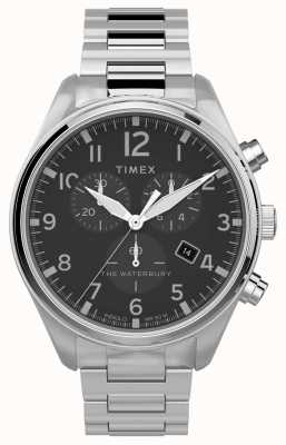 Timex | waterbury traditionele chrono 42mm | roestvrij staal TW2T70300