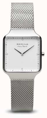 Bering | max rené | dames gepolijst zilver | stalen gaas armband | 15832-004