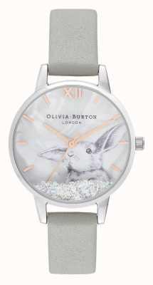 Olivia Burton | dames | winter wonderland | sneeuwbol kristal konijntje | OB16WL86