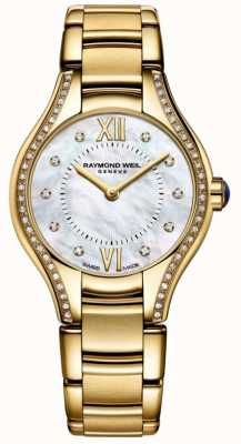 Raymond Weil ​dames | noemia | diamant | gouden pvd armband 5124-PS-00985