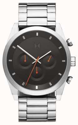 MVMT Element chrono | roestvrij stalen armband | grijze wijzerplaat | 28000046-D
