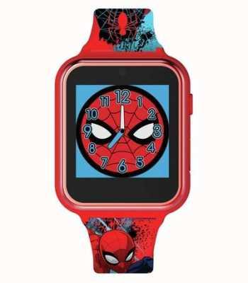 Avengers Slim horloge | rode plastic kast | bedrukte siliconen band | SPD4588